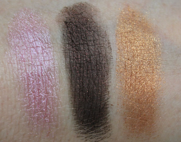 Wet n Wild Color Icon Eyeshadow Trio I m Getting Sunburned Swatch