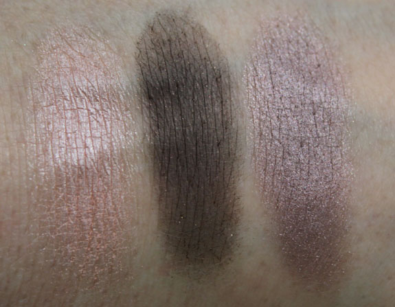 Wet n Wild Color Icon Eyeshadow Trio Silent Treatment Swatch
