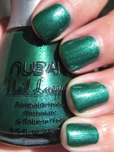 nubar going green conserve Green Nail Polish for St. Patricks Day!!!