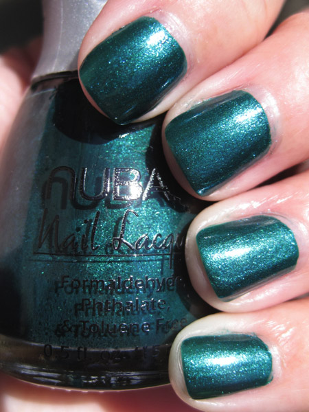 nubar going green earth Green Nail Polish for St. Patricks Day!!!