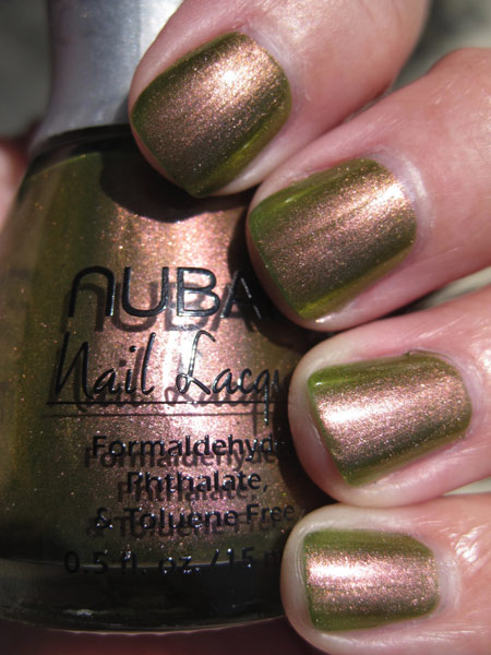 nubar going green wildlife Green Nail Polish for St. Patricks Day!!!