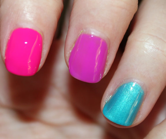Color Club Wicked Sweet Swatch4