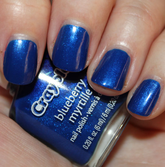 Crayola Nail Polish Blueberry