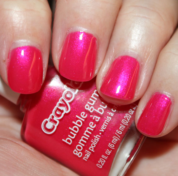 Crayola Nail Polish Bubble Gum