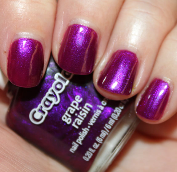 Crayola Nail Polish Grape