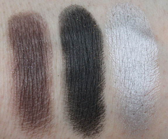 Inglot Eye Shadow Neutral Swatches 3