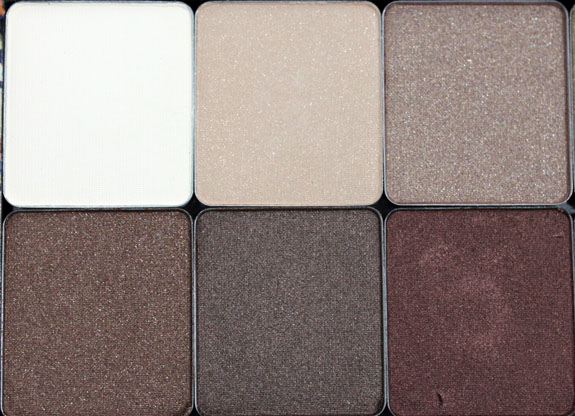 Inglot Eye Shadow Neutrals 3