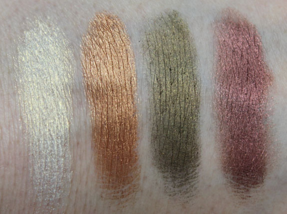 LORAC Tantalize Palette Swatches