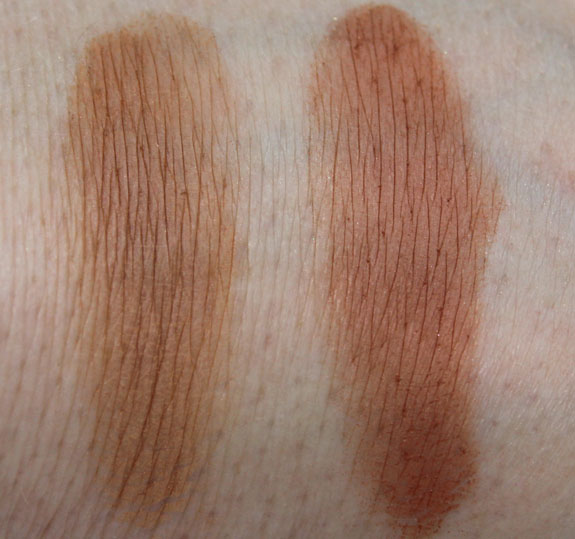 MAC Bronze Everyday Mineralize Skinfinish Natural Swatches