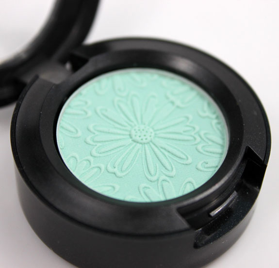 MAC Fashion Flower Aqua MAC Fashion Flower Collection for Summer 2011 Swatches, Photos & Review