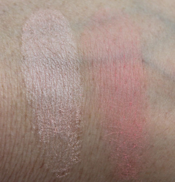 MAC Fashion Flower Beauty Powder Swatches without Flash