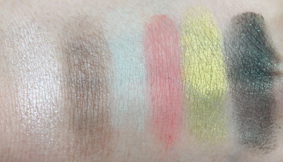 MAC Fashion Flower Eye Shadow Swatches with Flash MAC Fashion Flower Collection for Summer 2011 Swatches, Photos & Review