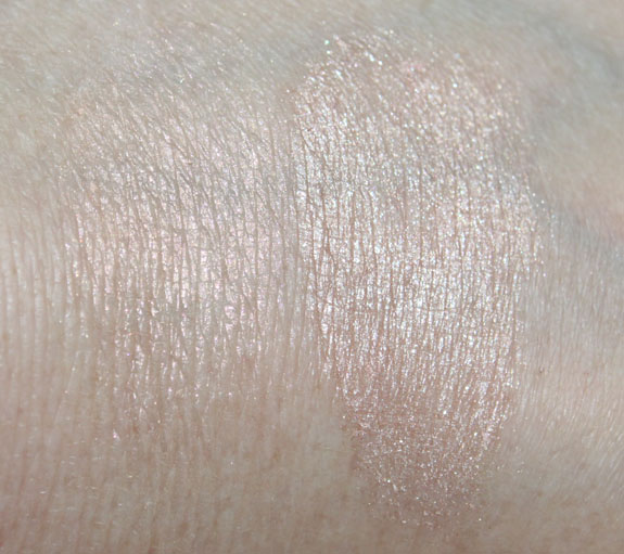 MAC Magically Cool Liquid Powder Swatches with Flash