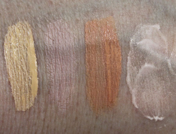 MAC Primed for Perfection Swatches