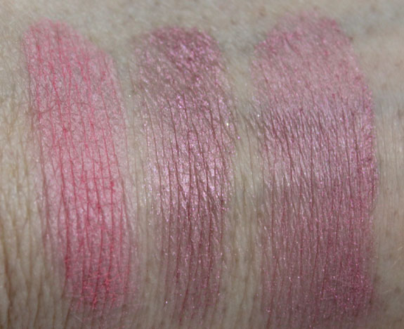 MAC Quite Cute Giggly Swatches
