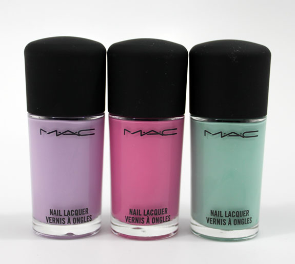 MAC Quite Cute Nail Lacquer MAC Quite Cute Collection for Spring 2011 Swatches, Photos & Review
