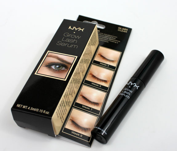 How Do Your Lashes Grow with NYX Grow Lash Serum & Long & Full ...