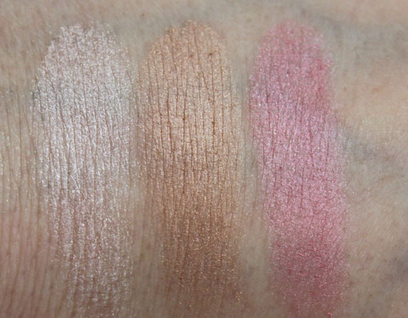 Physicians Formula Glow Pearls Swatches