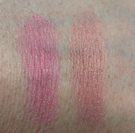 Too Faced Full Bloom Ultra Flush Powder Blush Swatches