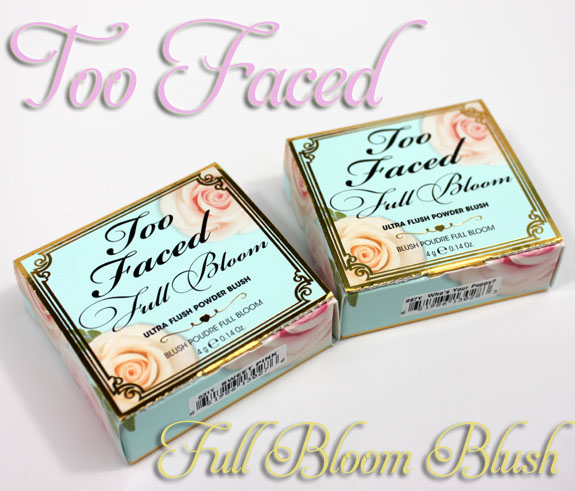Too Faced Full Bloom Ultra Flush Powder Blush