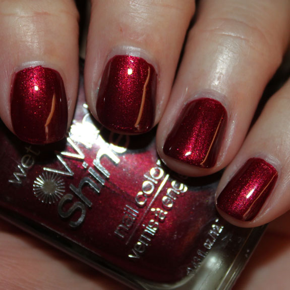 Nail Colors Burgundy: Wet N Wild Wild Shine Nail Color Swatches, Review