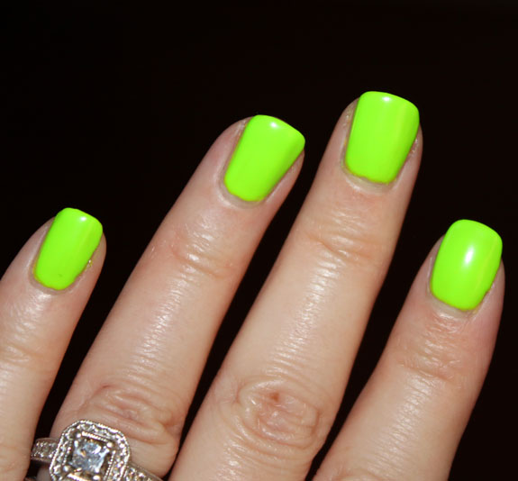 American Apparel Neon Nail Lacquer Swatches, Photos