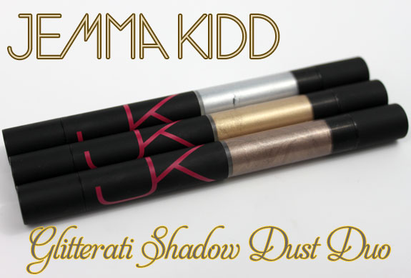 Jemma Kidd Glitterari Shadow Dust Duo Jemma Kidd Glitterati Shadow Dust Duo Swatches, Photos & Review