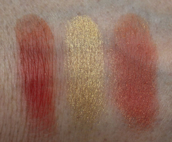 MAC Surf Baby Cheek Powder Swatches