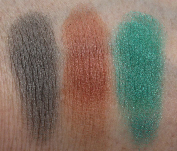 MAC Surf Baby Eye Shadow Swatches