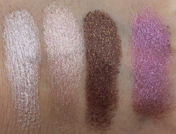 MAC Surf Baby Summer Stash Swatches
