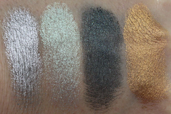 MAC Surf Baby Surf The Ocean Swatches