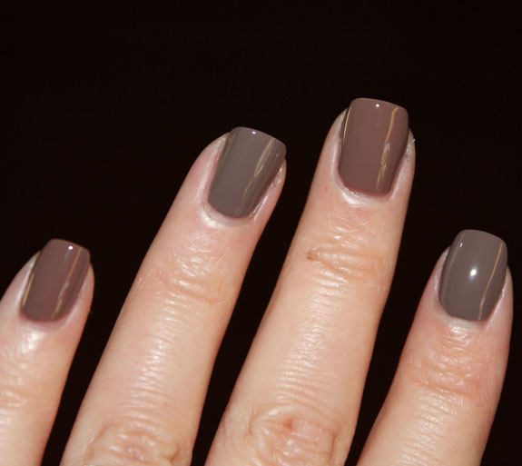 OPI Over The Taupe vs Sonia Kashuk Fatigued Swatch 2