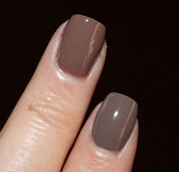 OPI Over The Taupe vs Sonia Kashuk Fatigued Swatch 3