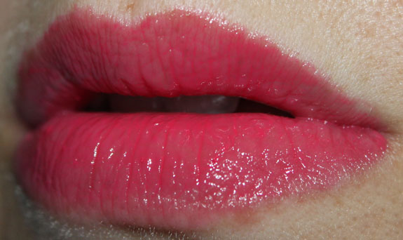 Pixi Succulent Lip Twin Pink Peony Swatch 2