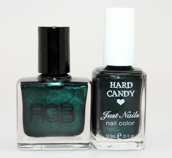 RGB Sea vs. Hard Candy Envy 4 RGB Sea vs. Hard Candy Envy   Reader Request!