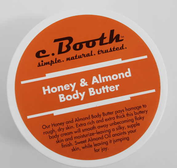c.Booth Honey Almond Body Butter 2 C. Booth Honey & Almond Body Butter Review