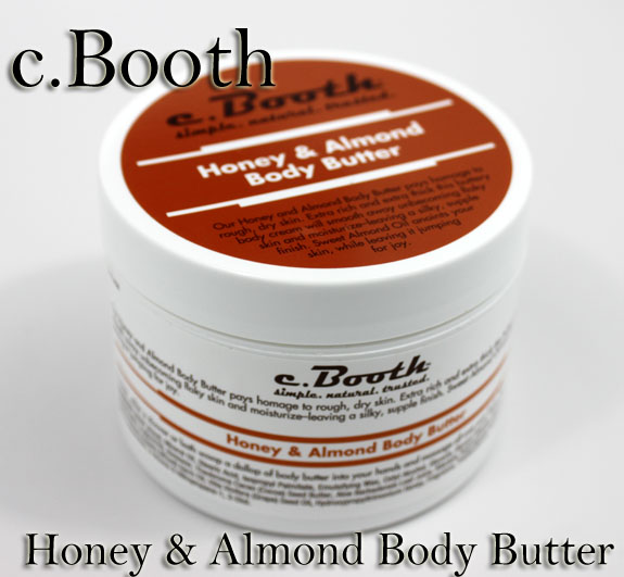 C Booth Honey  Almond Body Butter