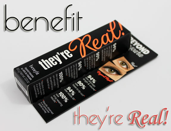 Benefit Theyre Real Benefit Theyre Real! Mascara Swatches, Photos & Review