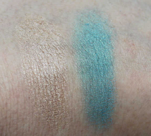 Josie Maran Eye Shadow Swatches