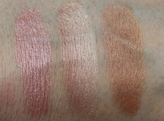 MAC Semi Precious Mineralize Skinfinish Swatches