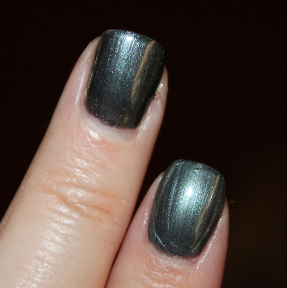 Revlon Black with Envy vs Chanel Black Pearl Swatch 3