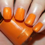 Revlon Summer Romantics Tangerine Swatch 150x150 Revlon Summer Romantics Nail Enamel Collection Swatches, Photos & Review