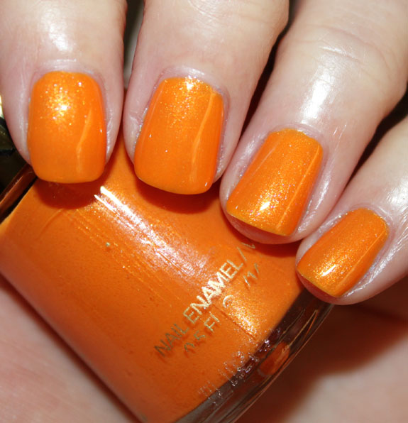 Revlon Summer Romantics Tangerine Swatch Revlon Summer Romantics Nail Enamel Collection Swatches, Photos & Review