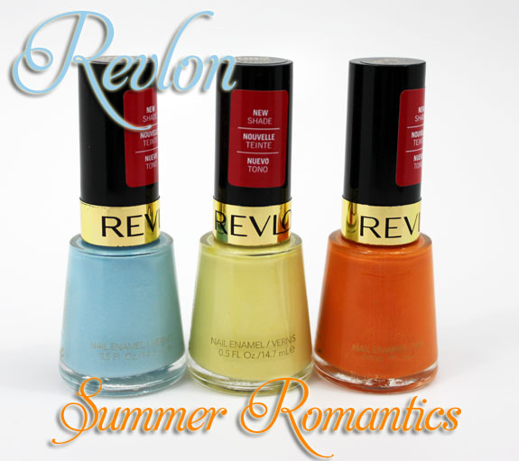 Revlon Summer Romantics Revlon Summer Romantics Nail Enamel Collection Swatches, Photos & Review