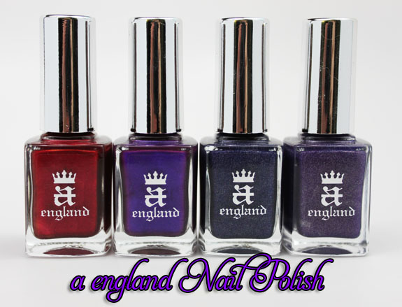 a england a england The Mythicals Nail Varnish Collection Swatches, Photos & Review
