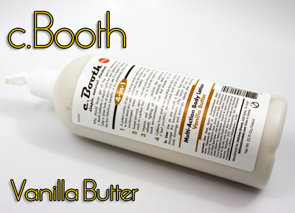 C Booth Vanilla Butter