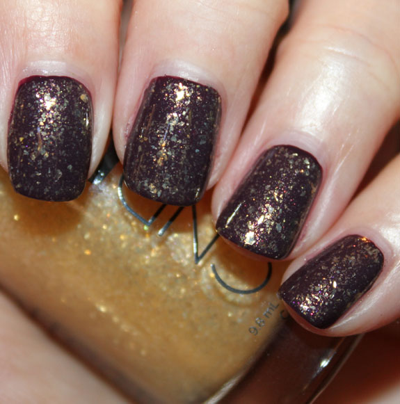 CND Dark Amethyst and 24K Sparkle