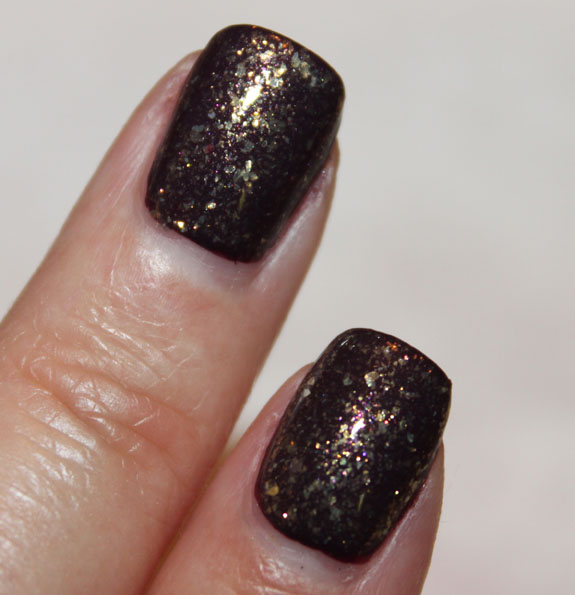 CND Dark Amythest and 24K Sparkle 2