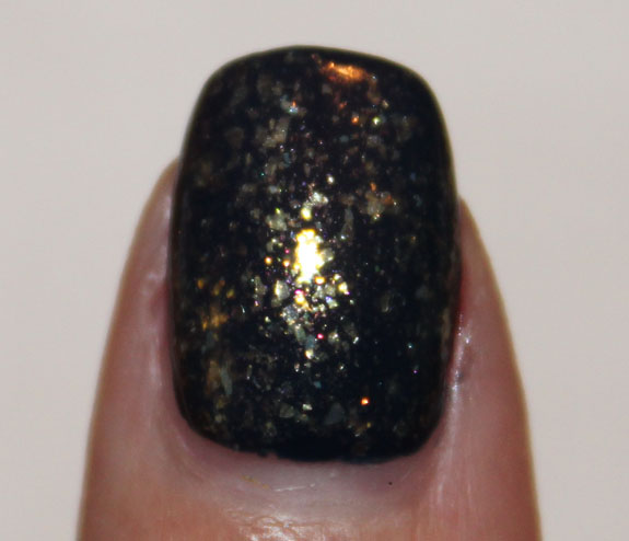 CND Midnight Sapphire and 24K Sparkle 3