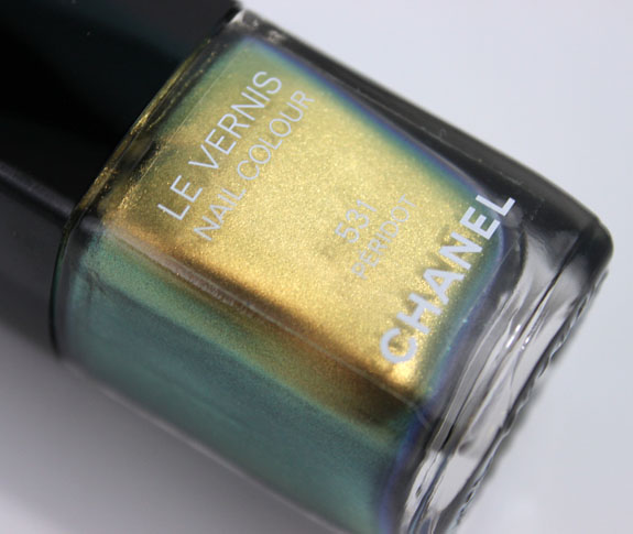 Chanel Illusions d Ombre Peridot 2
